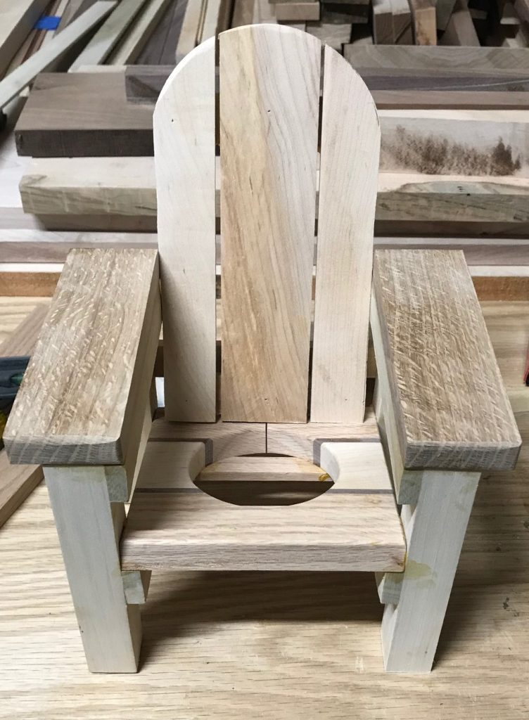 Adirondack Chair Wine Bottle Holder